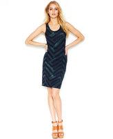 Rachel Roy Zigzag-Print Dress