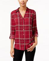 Charter Club Plaid Shirt, Only at Macy's