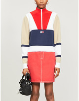 Tommy Jeans Colour-blocked woven jumper