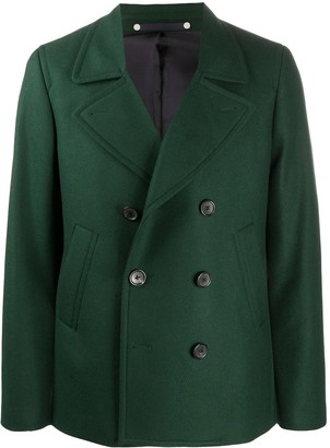 Paul Smith Fitted Double-Breasted Coat