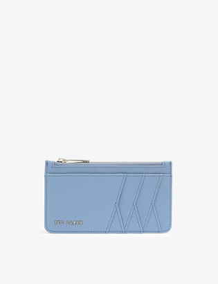 Ted Baker Iyaana zipped smooth leather card holder