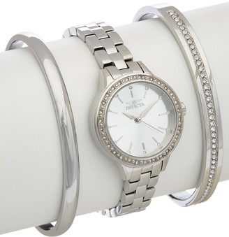 Invicta Women's Angel Watch & Bracelet Set