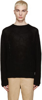 Yang Li Black Knit Sweater
