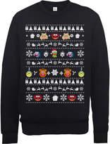 Disney The Muppets Muppets Christmas Heads Black Christmas Sweatshirt