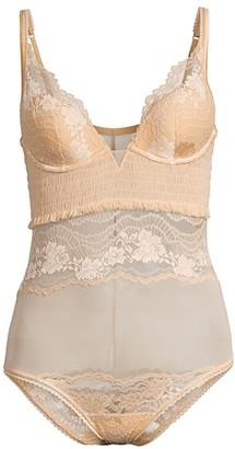 La Perla Lapis Lace Bodysuit