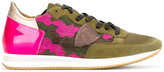 Philippe Model camouflage sneakers - women - Cotton/Leather/Patent Leather/rubber - 36