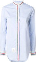 Thom Browne lace seam plain shirt
