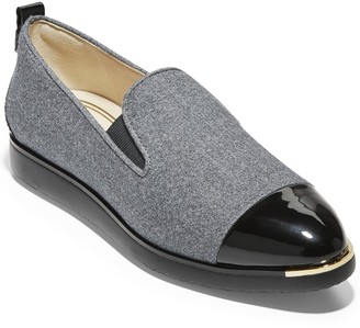 Cole Haan Grand Ambition Patent-Trim Loafer