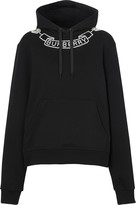 Burberry embellished logo hoodie