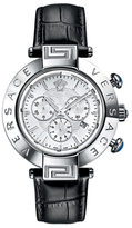 Versace Reve White Dial Watch, 46mm