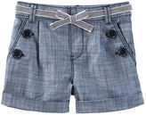 Osh Kosh Chambray Sailor Shorts