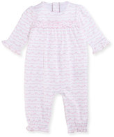 Kissy Kissy Rockabye Buggy Printed Ruffle Coverall, Size 3-24 Months