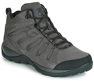Columbia REDMOND V2 LEATHER MID WATERPROOF men's Walking Boots in Grey