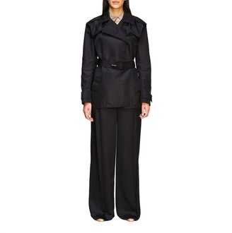 Bottega Veneta Trench Coat In Nylon With Belt