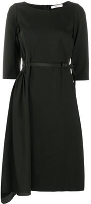 Dorothee Schumacher Asymmetric Midi Dress