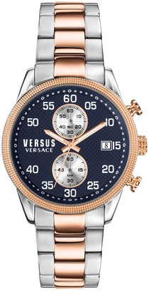 Versus Men's Shoreditch Quartz Chronograph Two-Tone Bracelet Watch, 44mm