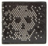 Alexander McQueen Men's Studded Leather Wallet - Black