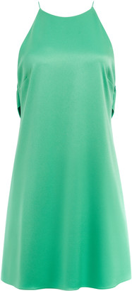 Alice + Olivia Azitara Halter Mini Dress
