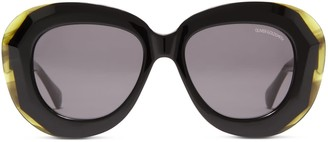 Oliver Goldsmith Sunglasses Norum 1958 Black Jade