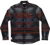 O'Neill Mens Franklin Woolrich Flannel Button Up Long-Sleeve Shirts
