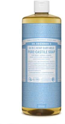 Dr. Bronner's Organic Baby Mild Cast Liquid Soap 946Ml