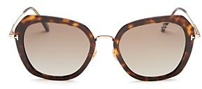 Tom Ford Women's Kenyan Polarized Geometric Sunglasses, 54mm