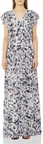 Reiss Eli Printed Maxi Dress