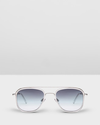 Carolina Lemke Berlin - Women's Silver Round - CL6727 SG OPT 04 - Size One Size at The Iconic