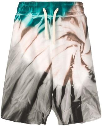 Paura Tie-Dye Drawstring Shorts