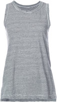 Current/Elliott striped tank top - women - Cotton/Spandex/Elastane - 0