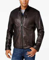 Andrew Marc Men's Mackinley Leather Moto Jacket