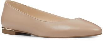 Nine West Corrine Women's Leather Ballet Flats