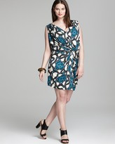 T-Bags Tbags Los Angeles Plus Short Dress with Tie