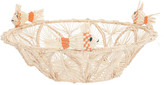 Mercedes Salazar Coral Fish Bread Basket