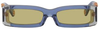 Jacquemus Navy Les Lunettes 97 Sunglasses