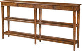 Theodore Alexander Village 72 Console Table, Brown