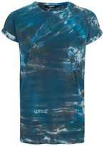 Jaded London Blue Tie-Dye Pocket T-Shirt*