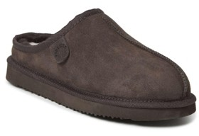 Dearfoams Fireside by Men's Grafton Clog Slippers Men's Shoes
