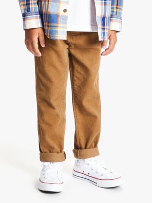 John Lewis & Partners Boys' 5 Pocket Corduroy Trousers