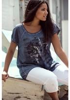 Ulla Popken Crew Neck T-Shirt