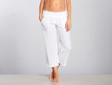 Allen Allen Linen Cropped Pant