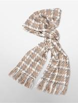 Calvin Klein Fringe Blanket Scarf