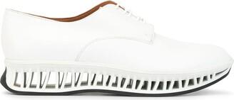 Clergerie Maka platform derby shoes
