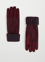 MANGO MAN Knit Gloves