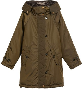 Max Mara Fleece-Lined Hooded Palpiti Parka