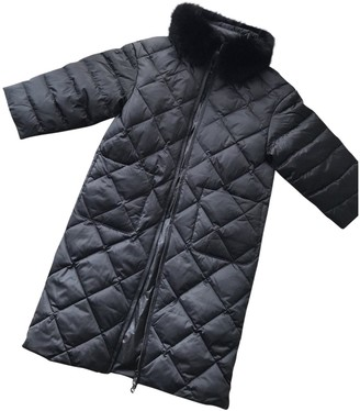 Max Mara Weekend Black Synthetic Coats
