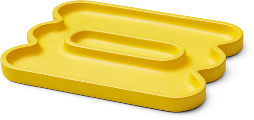 Octaevo - Yellow desk tidy / trinket catchall