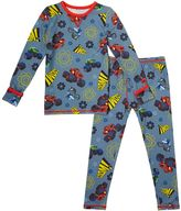 Cuddl Duds Toddler Boy Blaze and the Monster Machines Blaze, Crusher & Pickle Top & Leggings Set