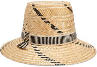 Yosuzi Irina Woven Straw Hat
