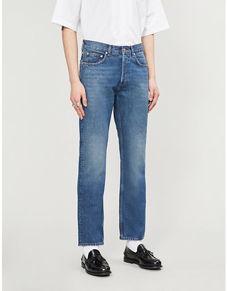 Sandro Faded straight-fit jeans
